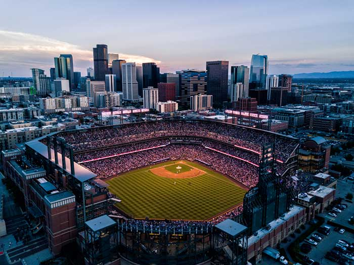 Colorado Rockies at the Coors Field